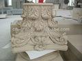 Mão esculpida em granito pilar coluna de pedra para venda