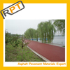 colored asphalt binder polymer