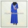 Latest design linen embroidery dubai abayas