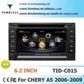 2 الدين سيارة دي في دي لشيري a5 2006-2009 مع بني-- في gps، a8 شرائح، rds، bt، 3g/ واي فاي، dics 20 momery( الدار-- c015)
