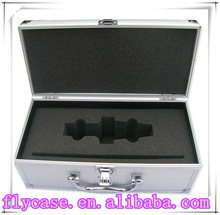 Cheap aluminum suitcase tool box,aluminum case for tools with foam cut out