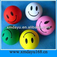 Smiley Face Stress Balls Customomized PU Toys