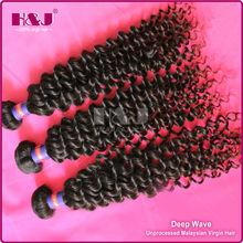 H&J Top Quality 6A Grade Unprocessed Wholesale 100% Virgin Sensationnel Hair