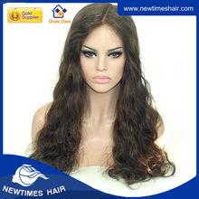 100% Human Hair Gray Hair Full Lace Wig