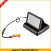 "New Mini 4.3"" Inch Digital color TFT LCD Car Monitor Foldable"