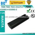 2200 mah 7.2v 7.2 volt bateria vara para makita 7000 7002 7033 632003-2 632002-4