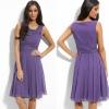 Best Selling LBD0171 Sleeveless Long Chiffon Cocktail Dress Evening