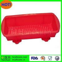Sedex Audit Factory FDA approved silicone loaf cake pan,custom silicone loaf cake pan