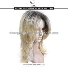 ZSY ombre synthetic wigs for oversea person