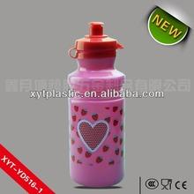 NEW VICTORIAS SECRET 500ML Plastic PINK Water Bottle Mini Dog Gift Workout Yoga Running Gym