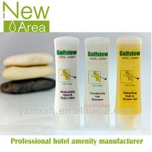 Hotel shampoo,bath gel,conditioner,body lotion in bottle