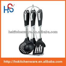 fancy kitchen utensils stand&fashion design nylon utensil set HS7680C
