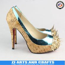 New Arrvial Ladies Leather High Heels