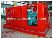 Diesel-driven Silent/open generator system