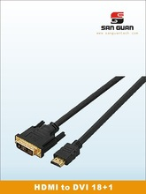 Hot sale hdmi dvi and vga cables made in china supplier