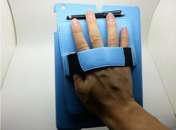 new arrival waterproof leather handheld ipad mini case