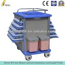 ALS-MT137 Hospital ABS utility trolley