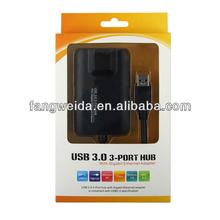 gigabit ethernet network adapter Gigabit Ethernet Adapter with 3 port USB 3.0 port