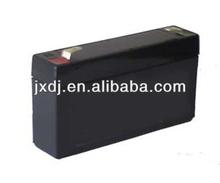 Rovidea VRLA AGM Rechargeable Lead Acid Battery 6v1.2Ah