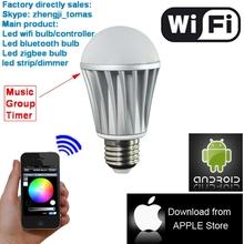 internet connections through LED bulbs + light-waves (LiFi)