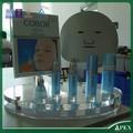 Madeira balcão de cosméticos exibição bancada display