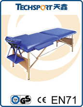 Wooden massage table portable