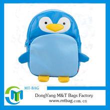 Animal shaped penguin school backpacks for little kids