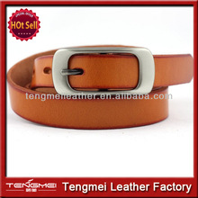 Good quality Pin buckle belt,Woman's 100% Cow Genuine Leather Belt Luxury With Cowboy belt