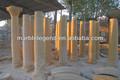 natural de granito rojo pilar romano y columnas