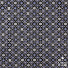 Blue & Grey on Dark Background Pattern Digital Printing Fabric