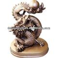 resina ingrosso dragon statue da giardino
