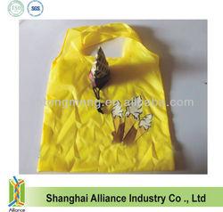 Ice Cream Shape Promotional Polyester Foldable Shopping Bag