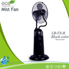 DC-Motor Misting Fan China Manufacturer, black