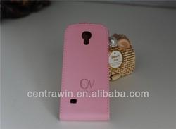 Fashionable s4 mini case for Samsung Galaxy S4 mini I9190 slim flip leather cover