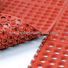 2014 new product Drainage rubber Mat/Anti-fatigue rubber Mat