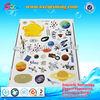 Colorful glass decoration sticker , decorative glass stickers , decoration sticker