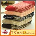 Invierno caliente calcetines de lana de conejo para mujeres