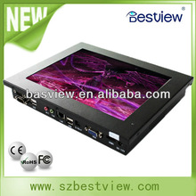 10 inch touch screen industrial panel pc all in one 10-D525