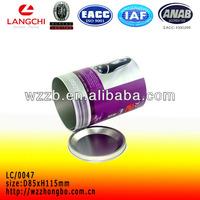 Cylindrical caviar tin box wholesale