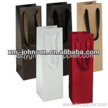 China manufacture wholesale decorative paper wine bottle bags