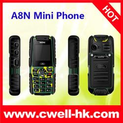 1.44 inch quad band dual sim mini rugged mobile phone