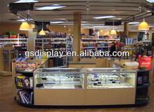 customised kiosk design for grocery store furniture