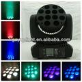 12pcs*10w mini led far kafası hareket projektör ışığı