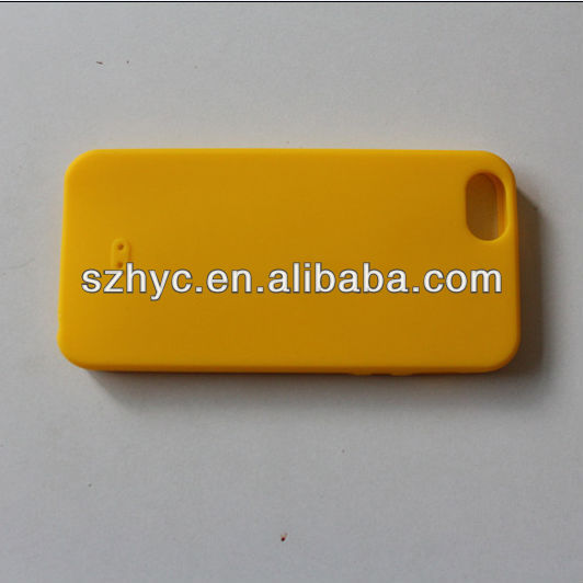 Fashion clear soft silicone gel case for iphone 5