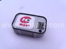 Cheap branded pvc custom usb flash drive