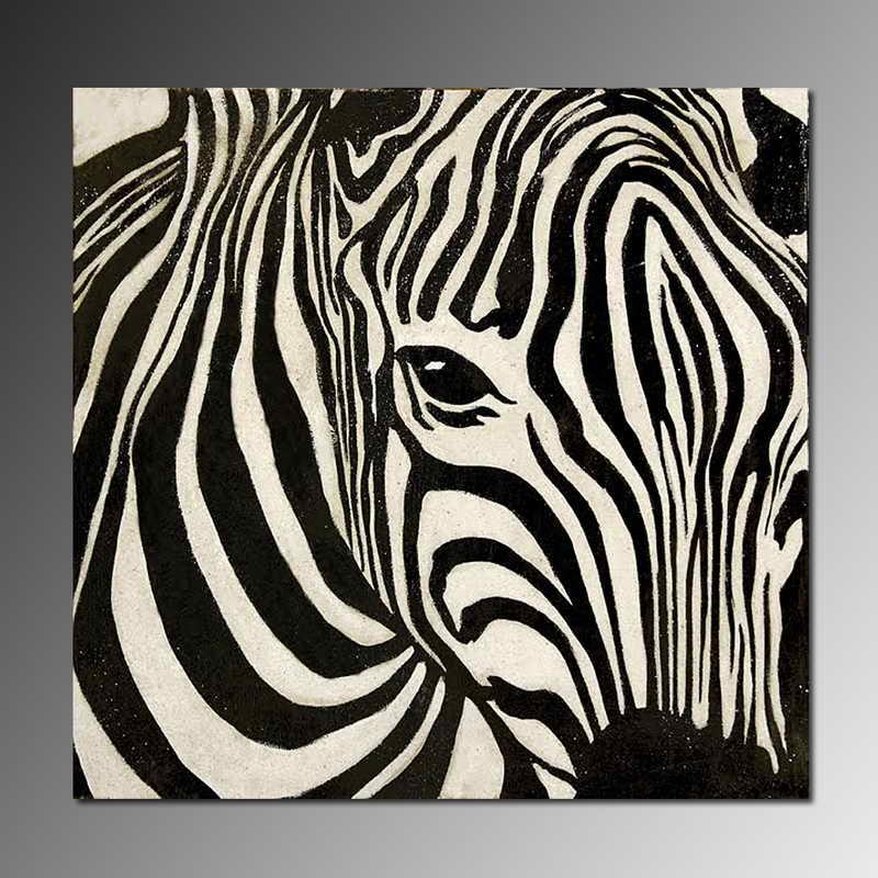 Black and white stripe...