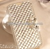 new arrival luxury jewely flip leather wallet case for iphone 5 5s