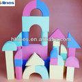 bloques de espuma eva juguetes y artesanías con el patrón