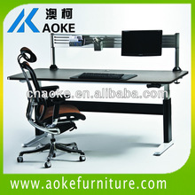 Office electric tall persons 600-1250mm heights desks/workstation