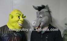 2014 Huizhou Hot Selling Realistic New Cute mascot latex Donkey costume